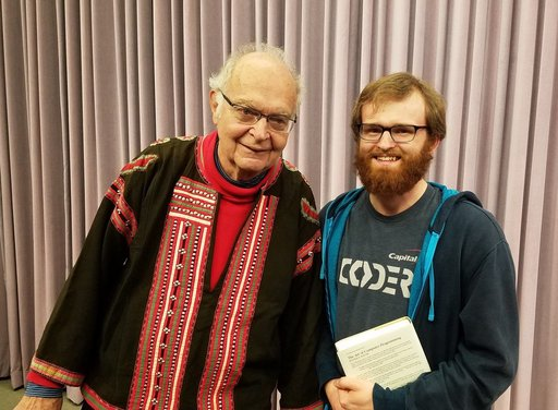 Me with Don Knuth